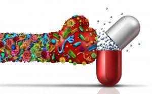 infecciones con bacterias resistentes a los antibióticos
