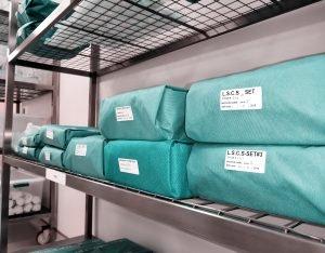 procesos de una central de equipos y esterilización