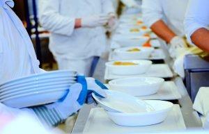 higiene en alimentos de pacientes con COVID-19