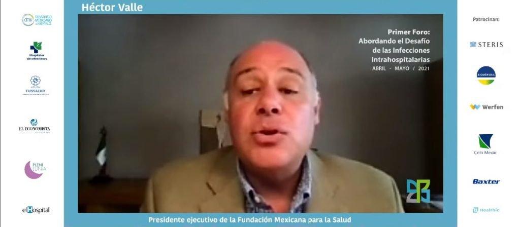 Héctor Valle de la Fundación Mexicana para la Salud