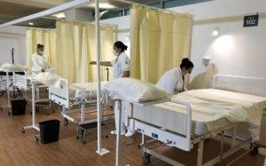 Hospital temporalCOVID-19Autódromo Hermanos Rodríguez, caso de éxito en contención de contagios