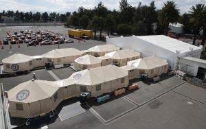 Hospital de Expansión del IMSS en el Autódromo Hermanos Rodríguez cumple un año