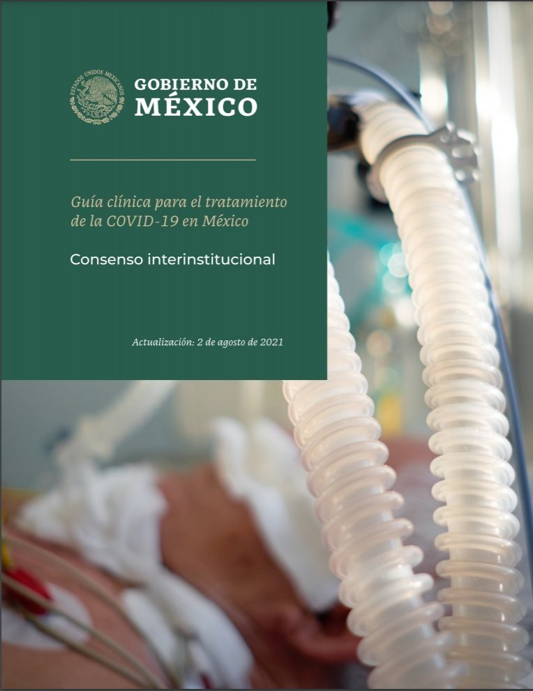 Guía clínica para tratamiento de COVID-19 del Gobierno de México