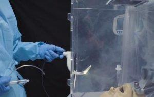 cajas de intubación